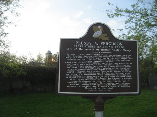 Plessy Sign Front | by Infrogmation