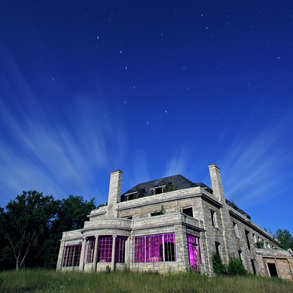 Abandoned Mansion In Northern WI. With