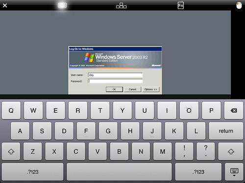 windows remote desktop with iPad | by ChrisDag