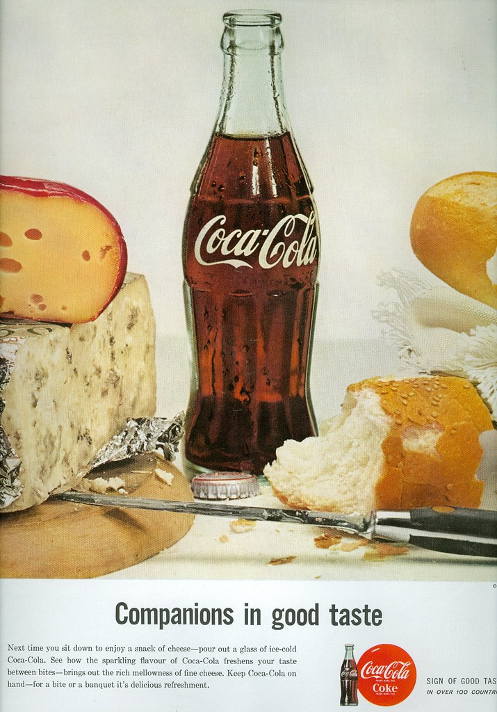 Ca  1960 Coca-Cola advertisement | I took a dip in my archiv