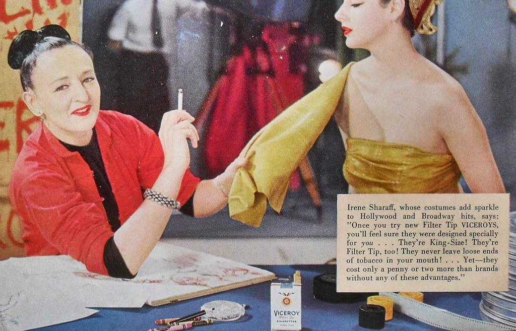 1950s VICEROY CIGARETTES Vintage Tobacco Smoking Advertise