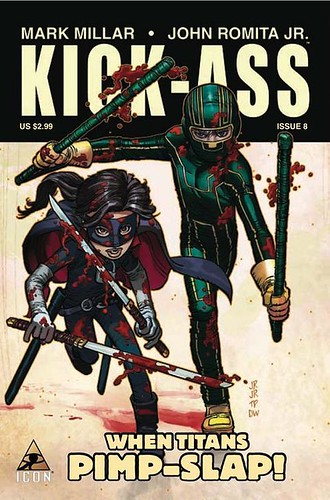 kick-ass issue 8 cover | by Rerng®IT