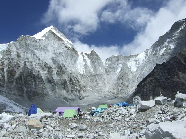 Everest base camp, 5364 m. Nepal