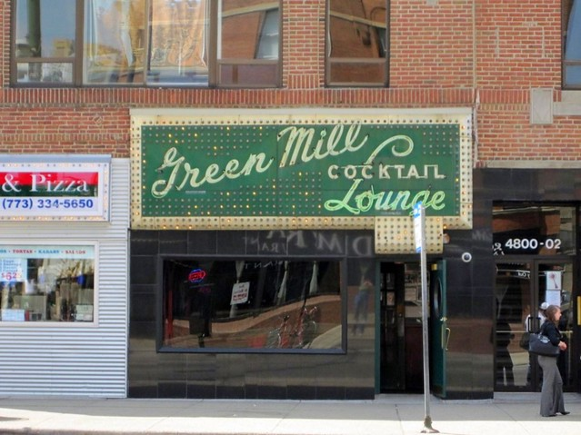 Green Mill Lounge, Al Capone Hangout