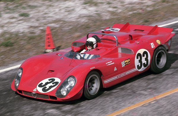 Factory Alfa Romeo T33/3 at Sebring 1970 | The Toine Hezeman… | Flickr