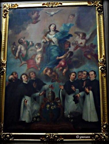 Oleo sobre tela, Catedral de Puebla, Pue.,México. P1060270