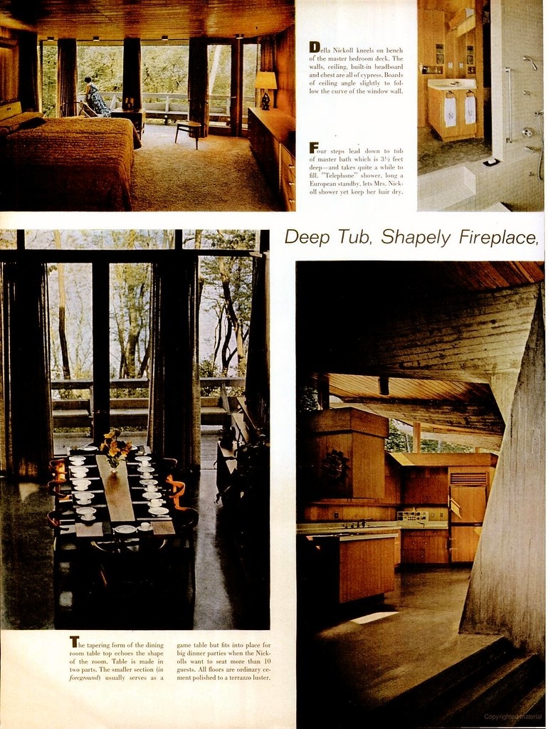 Nickoll Residence - Fox Point, Wisconsin - Life Magazine
