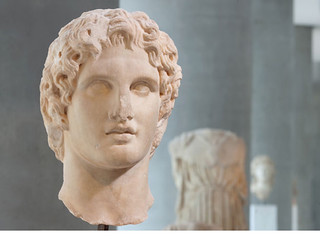Alexander the Great as a young man | by Andrew Garth