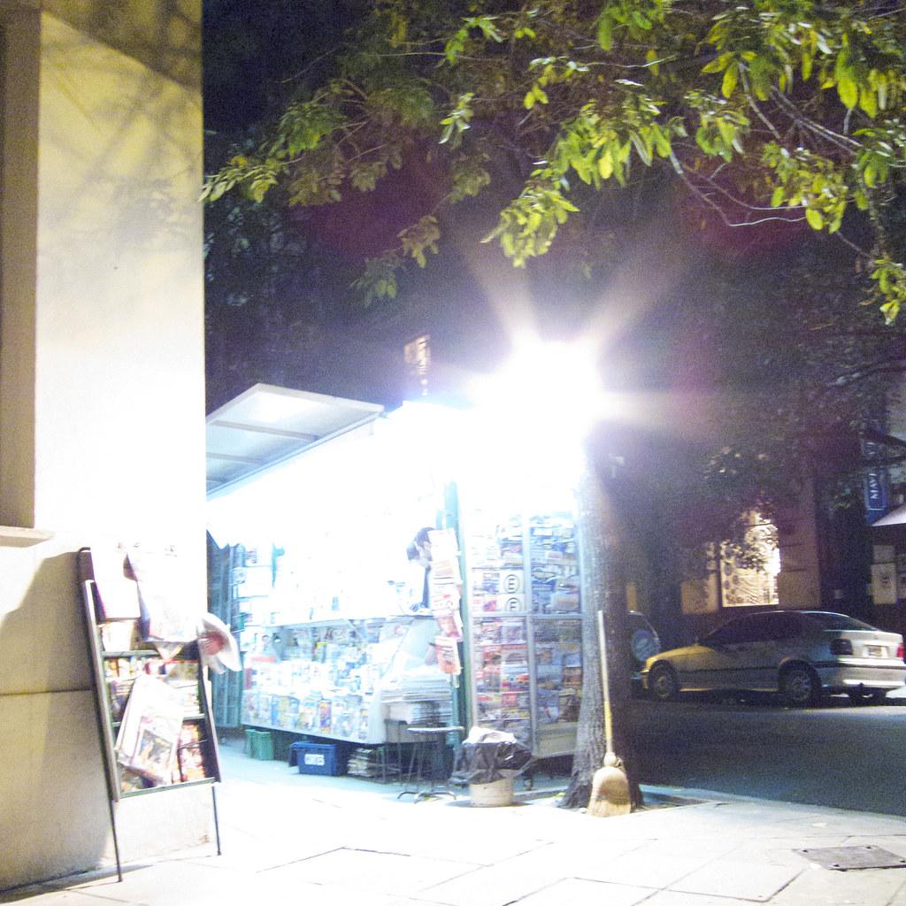 Periodicals vendor, Barrio Norte