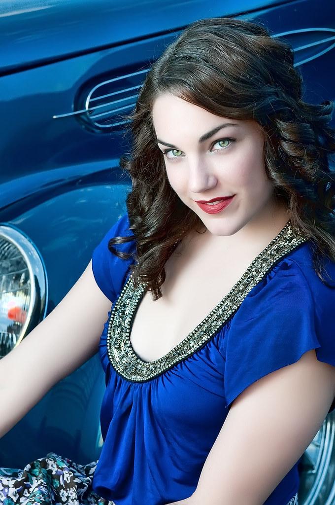 Jessica's  'Blue' Portrait