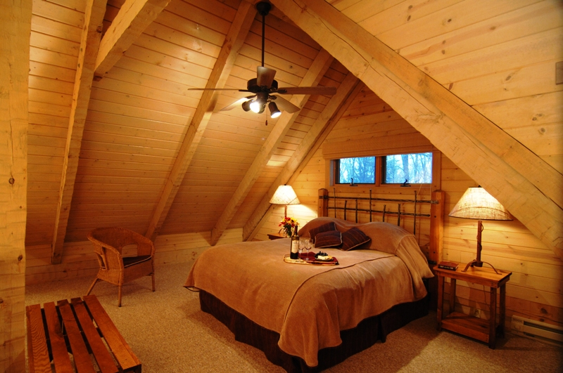 Cabin Loft Bedroom The Inside Of Their Luxury Cabins Each Flickr