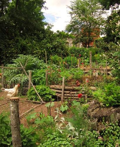 Potager Garden Blogs: Hardworkinghippy : La Ferme De