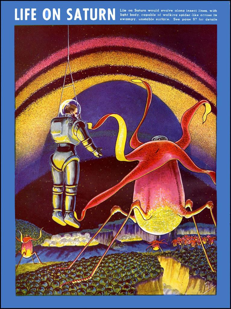 1940 fantastic adventures artist frank paul james vaughan flickr