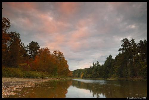 autumn sunset fall nikond50 pemigewassetriver justinsmith leefilters nikon1735mmf28
