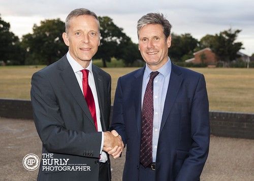 Keir Starmer MP and Matt Rodda MP