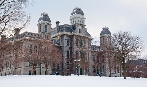 Hall of Languages winter