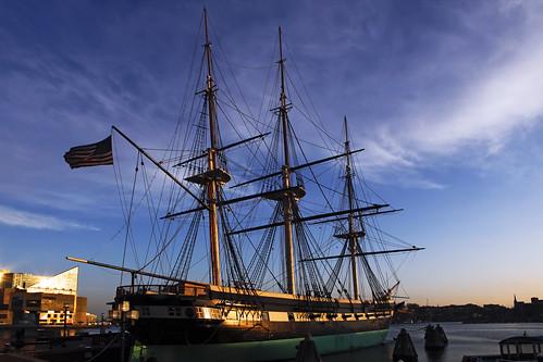 baltimore canonef2470mmf28lusm innerharbor ussconstellation ship maryland city sunset wearebaltimore
