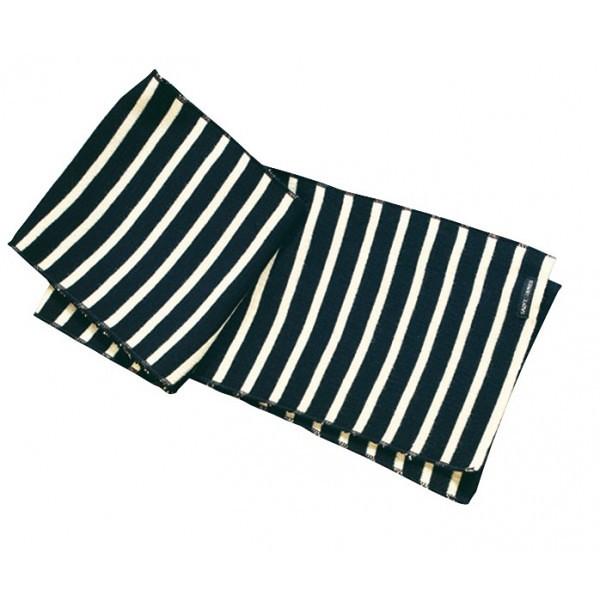 pure new wool nautical scarf