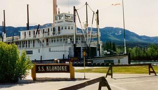 Paddlewheeler SS Klondike