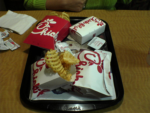 Chick-Fil-A Chicken Sandwiches and Waffle Fries | These are