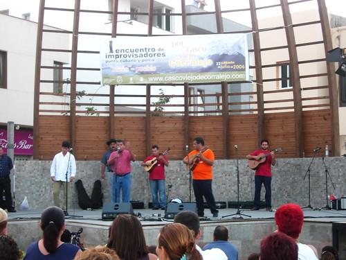 I Encuentro Internacional Improvisadores de Corralejo (Fuerteventura)