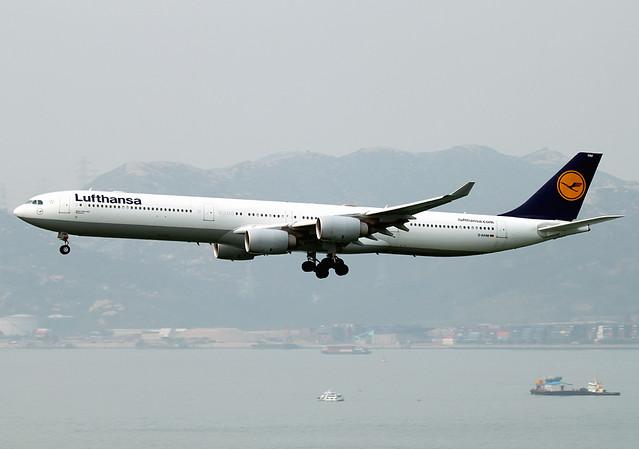 A340-642 | Lufthansa | D-AIHM | HKG