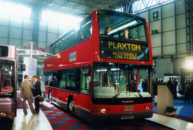 Plaxton President Concept Bus.