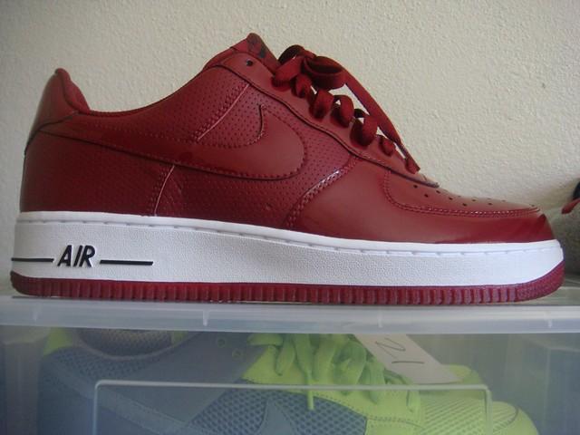 1 Air Cranberry Burgundywhite Nike Force BlackKickrocks Flickr mv80Nnw