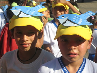 Children at the San Vicente Migratory Bird Festival in Colombia | by U. S. Fish and Wildlife Service - Northeast Region