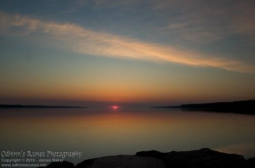 morning ontario sunrise bay dock barrie kempenfelt tyndalepark tollendale