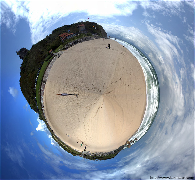 planete plage d'ilbarritz par Karim SAARI