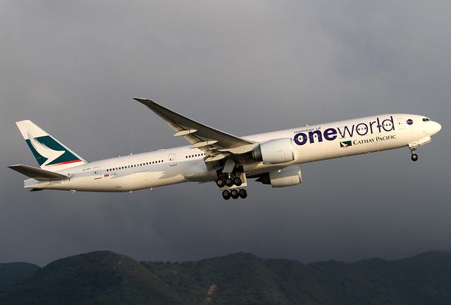 B777-367/ER | Cathay Pacific | oneworld | B-KPL | HKG