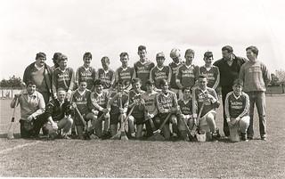 1980's Hurling Team Shot   by Naomh Fionnbarra GAA Club