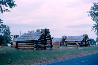Valley Forge - Soldiers' Cabins