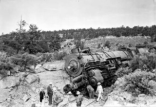 00695  Grand Canyon Historic Train Wreck 1939 | by Grand Canyon NPS