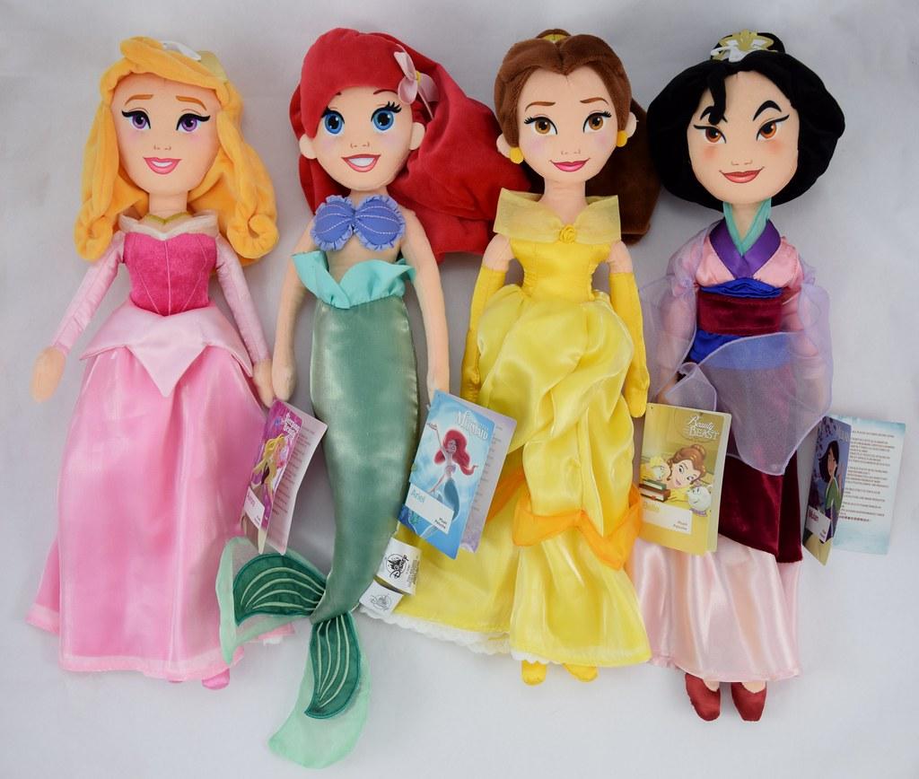 2017 Disney Princess Medium Plush by Disney Store - Disney ...