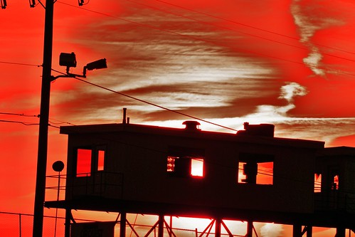 sunset sky sun evening staffordspeedway announcerbox staffordct