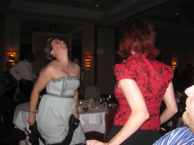 Jen Jess dancing