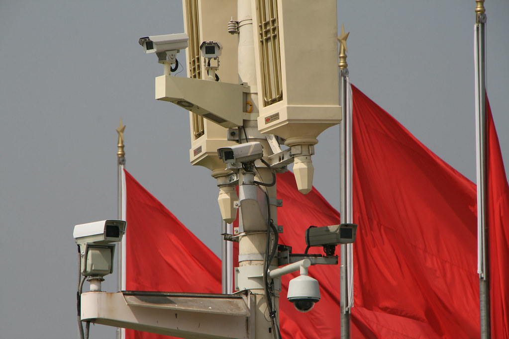 Surveillance in Tiananmen Square