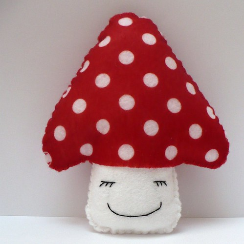 Red Mushroom Plush | by titchables