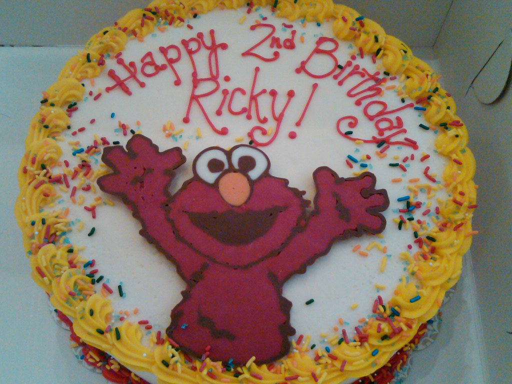 Super Elmo Birthday Cake We Can Create A Cake That Matches Your Flickr Funny Birthday Cards Online Bapapcheapnameinfo