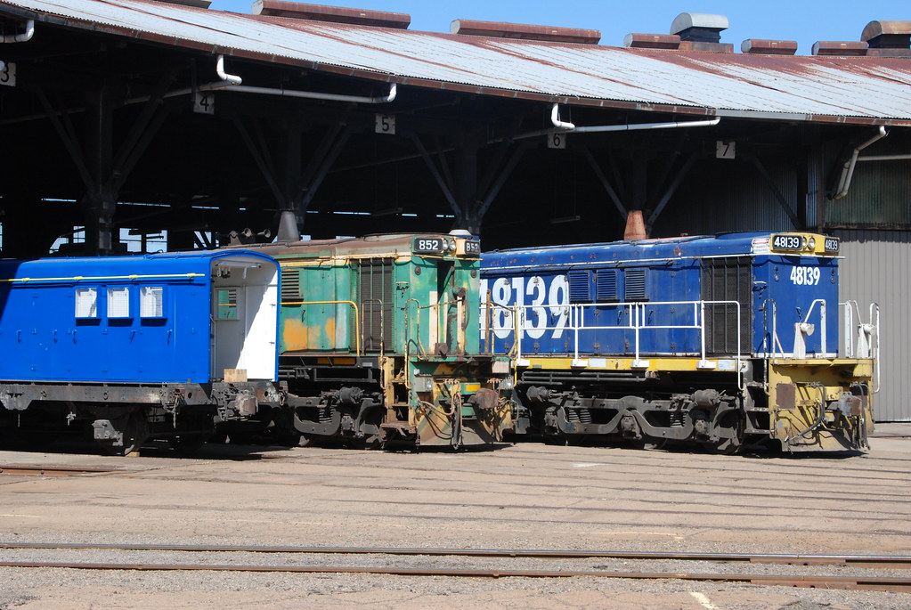 48139 at Junee Roundhouse by Tim Pruyn