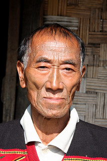 Konyak king, Langmeang, Nagaland