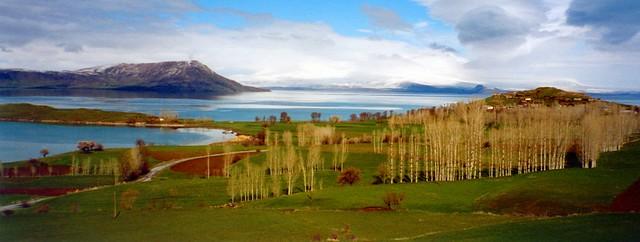 Beautiful Lake Van in Turkey