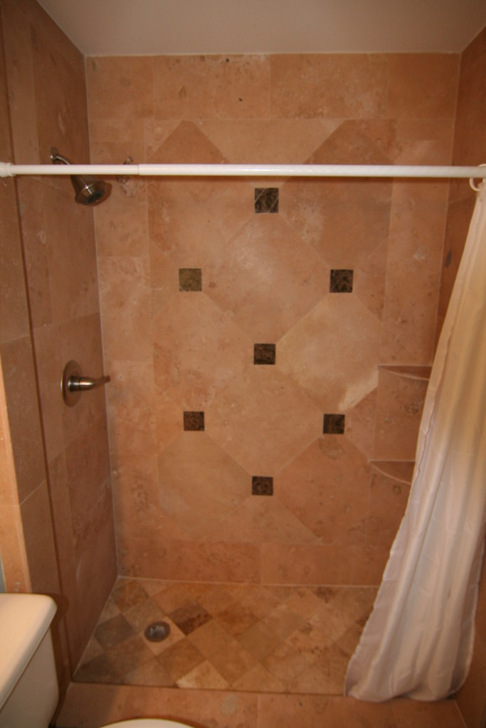 Travertine Showers On Lower Floors L Flickr