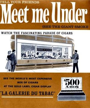 General Cigar World's Fair Ad | 1964 New York World's Fair