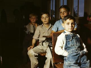 John Vachon: Rural school children, San Augustine County, Texas, 1943