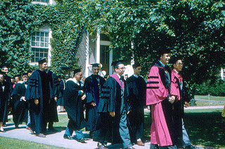 Haverford College - Commencement 1958