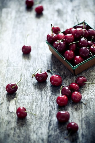 Cherries on a rainy days | by tartelette