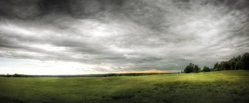 sunset sky panorama storm field clouds photoshop canon landscape dusk 40d grotonmassachusetts patrickcampagnone